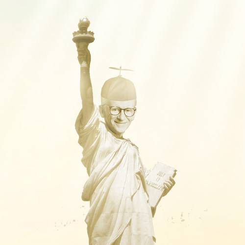 Charleston Harbor Statue of Liberty Closeup