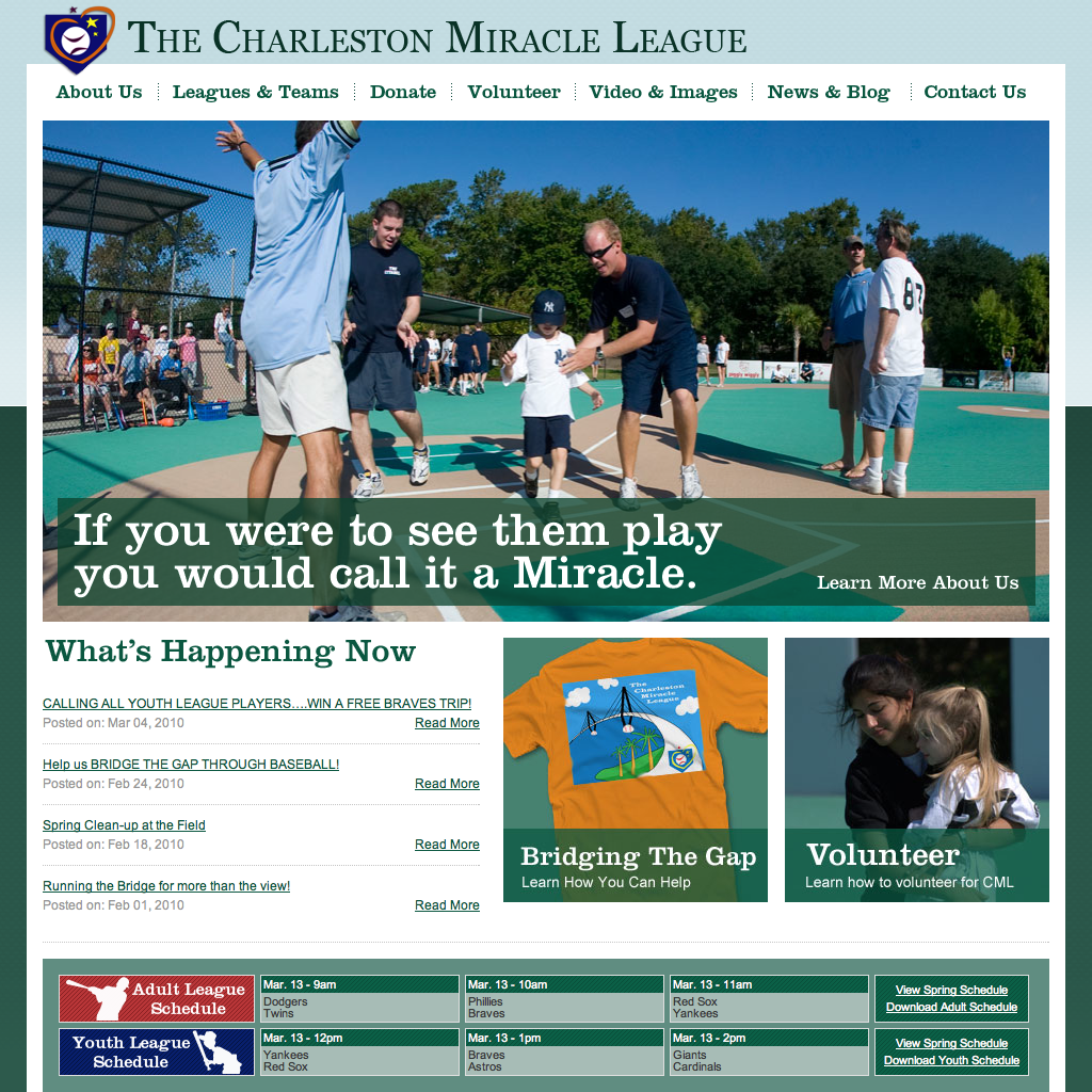 Charleston Miracle League Home Page