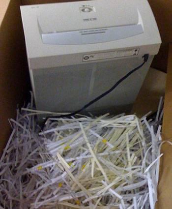 Paper Shredder Dead
