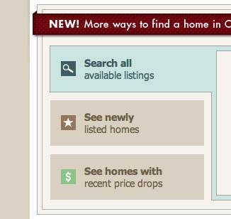 Ways to Search on Nest Realty