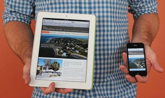 Responsive Design for Beaches Site