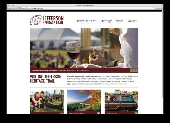 Jefferson Heritage Trail Website