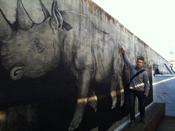 Mural Mural On The Wall. Posted By Robert Prioleau On Monday, January 21,  2013. Rhino