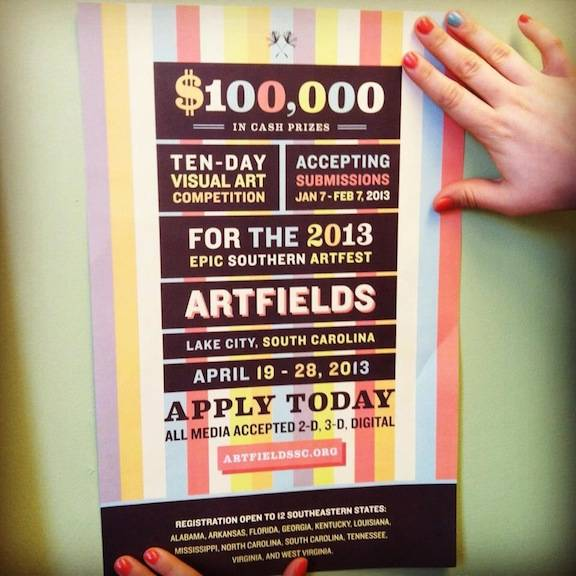 artfields poster