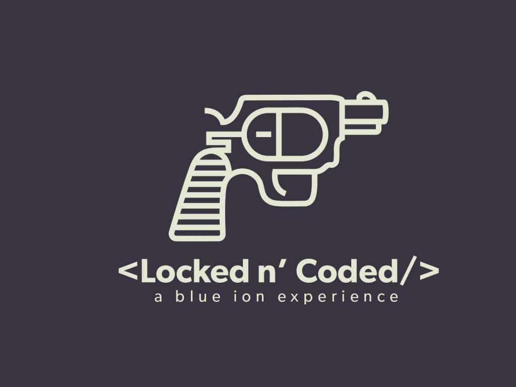 Locked N Coded logo