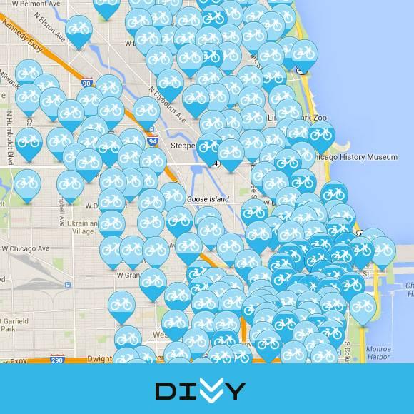 Chicago's DIVVY Bike UX - Blue Ion on