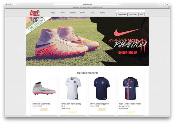 Lloyd's Soccer Homepage