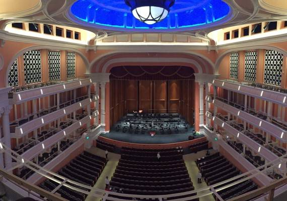 Gaillard Center Stage