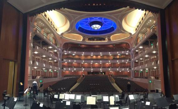 Gaillard Center View From The Stage