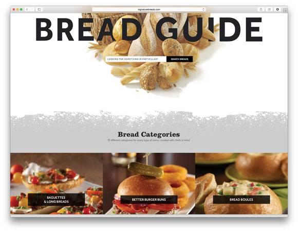 Signature Breads Bread Guide