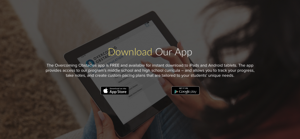 Overcoming Obstacles - Download App