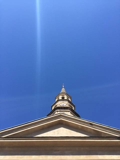 St. Philip's blue sky