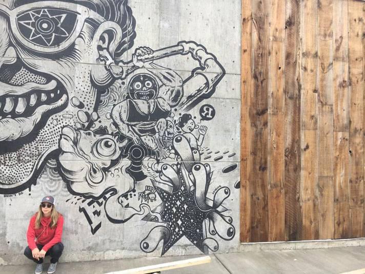 Graffiti in West Town