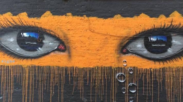 Graffiti in Wicker Park