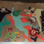 Indoor mural at Rachel's Ginger Beer
