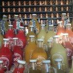 All the flavors of ginger beer at Rachel's Ginger Beer