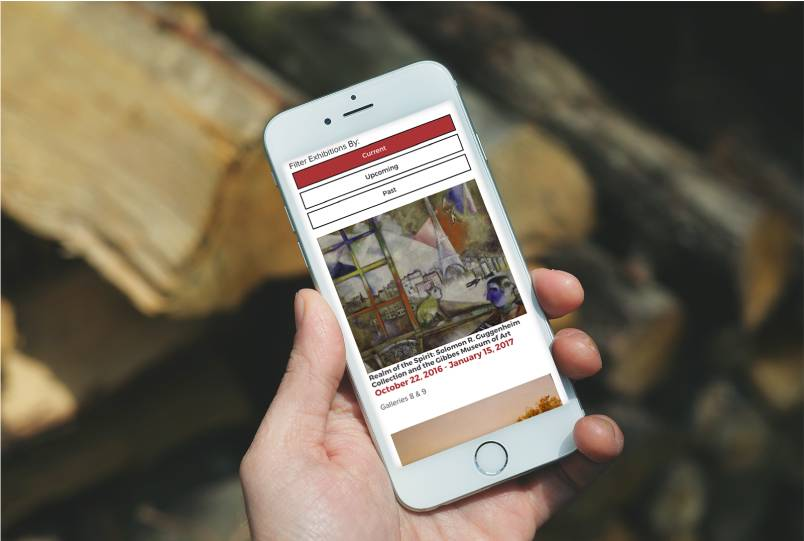 Gibbes Museum mobile user experience