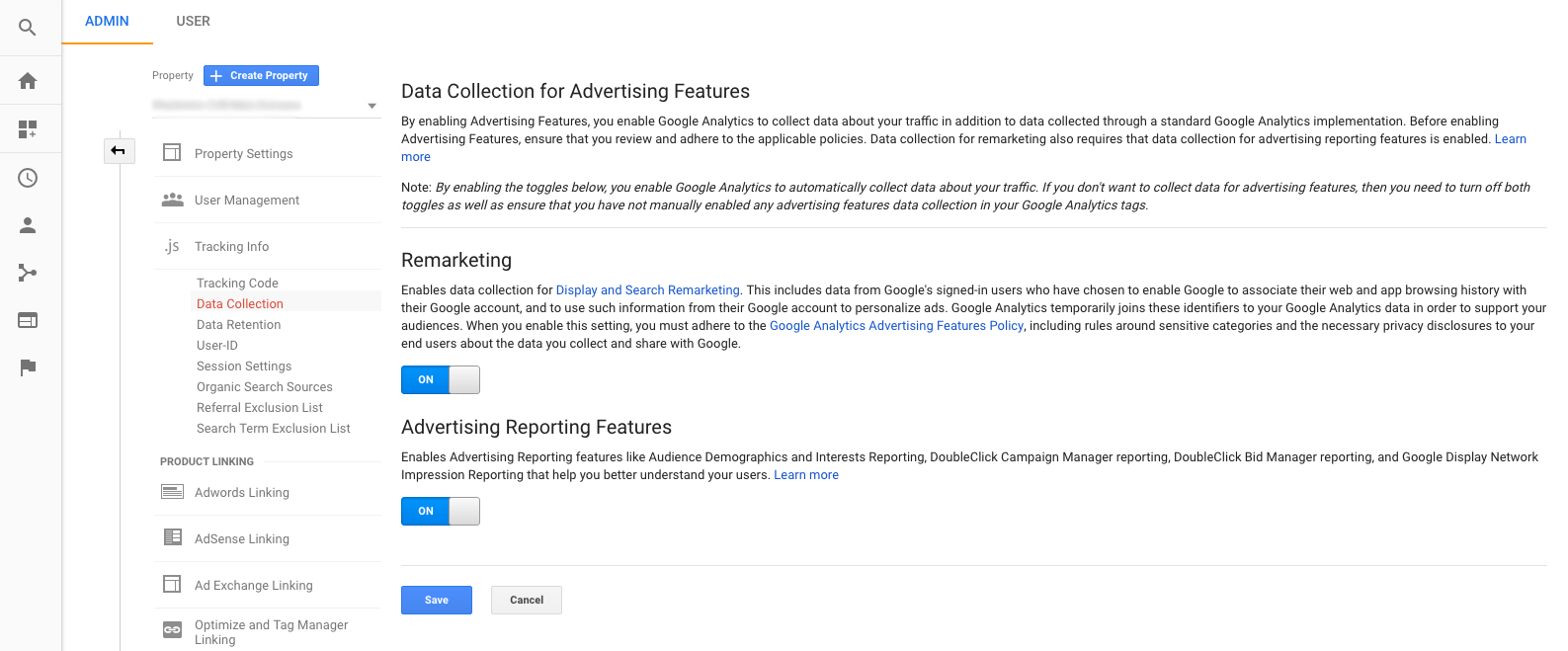 Google Analytics Data Collection for Advertisers